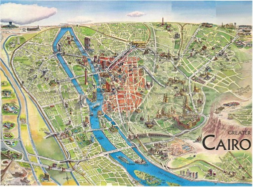 Greater Cairo Map sm