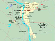 Maps of Egypt - CAIROMAP