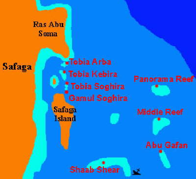 Maps of Egypt - safaga map